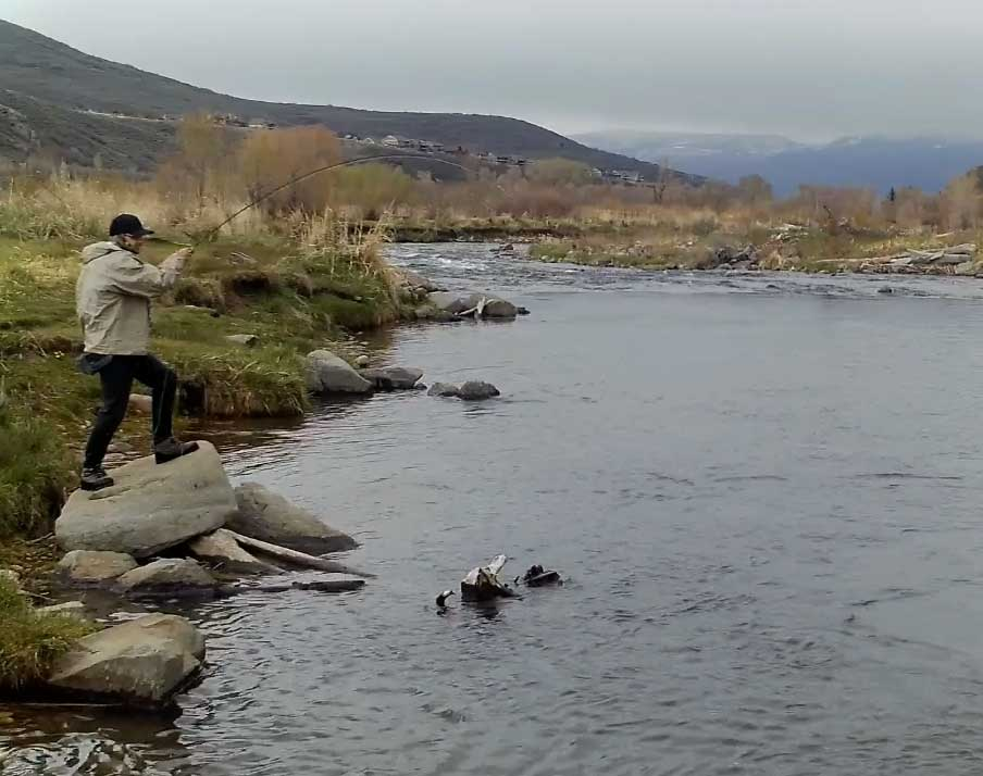 Meet Jacob – Your guide to fly-fishing at the Lazy L&B Ranch!