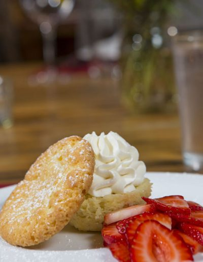 Strawberry Shortcake Dessert - Lazy L&B Dude Ranch Wyoming