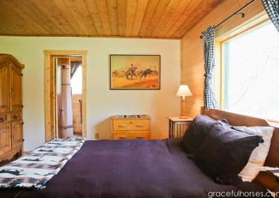 Cabin Interior - Lodging Rooms Lazy L&B Guest Ranch Wyoming